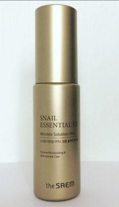Антивозрастной мист с муцином улитки THE SAEM Snail Essential EX Wrinkle Solution Mist