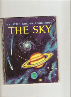 Little Golden Book - About The Sky