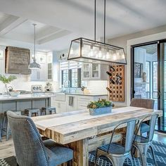 Today on Home Bunch Blog. Click on the profile link to know ALL DETAILS of this #farmhouse #kitchen and #diningroom. I am sharing all sources, #paintcolors, #lighting, #furniture and more! I hope you guys enjoy the #post! Design by @cvi_design
