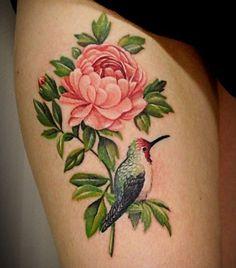 Dvouhlavá inspirace: tetování s motivem kytky