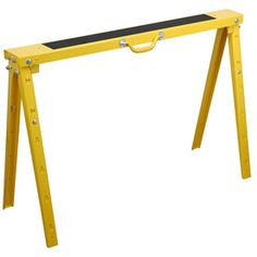 Blue Hawk Folding Steel Adjustable Sawhorse 60142