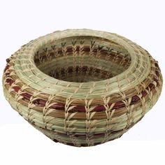 Pineneedle baskets | Pine Needle Pot Basket - Tango Zulu Imports