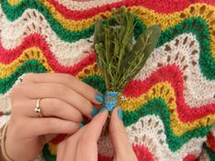 Herb Corsages for the boys : made by the bride : Wedding!