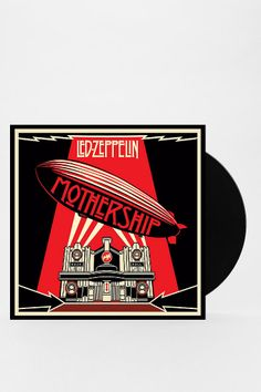 Led Zeppelin - Mothership 4XLP :: never listened to this but the art is cool.