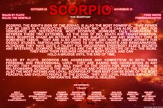 Sun signs: Scorpio -See more here!http://bit.ly/1dqeH58