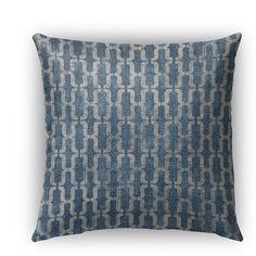 """Kavka Como Burlap Indoor/Outdoor Throw Pillow Size: 16"""" H x 16"""" W x 5"""" D"""