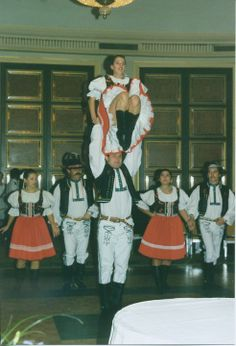 Sirava Slovak Folk Ensemble- Brian and my aunt Wendy Folk Clothing, Aunt, Relax, Culture, Dance, Embroidery, Clothes, Dancing, Outfits