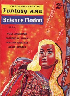 The Magazine Of Fantasy And Science Fiction (May 1961), cover by Ed Emshwiller