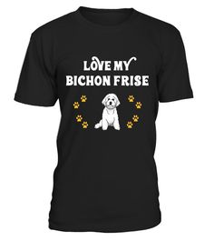 "# Love My Bichon Frise Cute Owner Gift T-Shirt .  Special Offer, not available in shops      Comes in a variety of styles and colours      Buy yours now before it is too late!      Secured payment via Visa / Mastercard / Amex / PayPal      How to place an order            Choose the model from the drop-down menu      Click on ""Buy it now""      Choose the size and the quantity      Add your delivery address and bank details      And that's it!      Tags: This design is just one of many that…"
