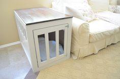 DIY | dog crate | a boy, a girl, and 2 mini aussies