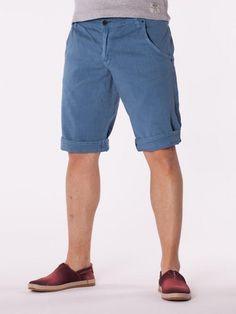 Pantaloni scurti barbati Luppo I albastrii