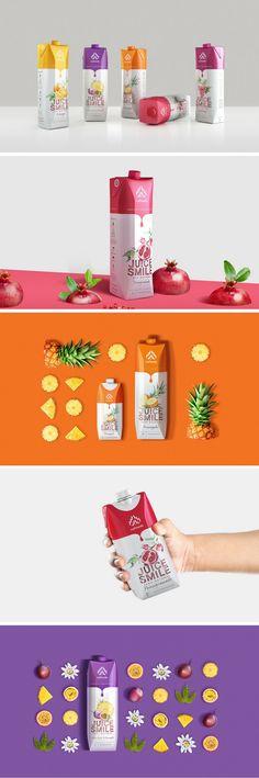 Juice Smile packaging by Bratus Agency