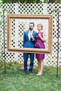 39 Ideas Diy Wedding Photo Booth Frame Pictures For 2019 Outdoor Photo Booths, Rustic Photo Booth, Diy Wedding Photo Booth, Diy Fotokabine, Backdrop Frame, Backdrop Ideas, Diy Photobooth Frame, Booth Ideas, Diy Backdrop Stand