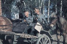 Rare, hand colored photos from the Continuation War