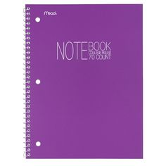 @target Mead College Ruled 70 Sheets Poly Notebook