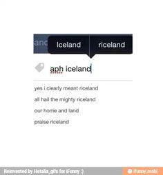 Riceland! XD