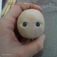 Master class on sculpting dolls OOAK. Modeling doll with eyes Clay Dolls, Art Dolls, Muñeca Diy, Reborn Silicone, Bjd, Clay Baby, Clay Masks, Rubber Duck, Cute Baby Animals