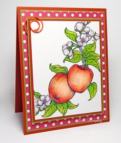 DTGD16TJoy Under the Apple Tree by LuvLee - Cards and Paper Crafts at Splitcoaststampers