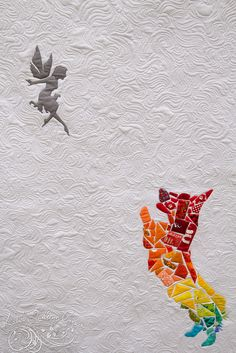 Corgi Fairytale Quilt by Katie Ringo