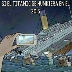 Si el titanic se hundiera en el 2015
