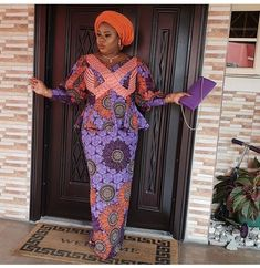 Sundays in Nigeria is always a day Christians wear their best outfits. They wear their best clothes to church to thank God for his mercies African Attire, African Dress, African Print Dress Designs, Church Fashion, Church Outfits, Embellished Dress, Ankara Styles, Modest Dresses, Color Mixing