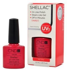 http://shops.razaky.com/product.php?asin=B007S3I388#sthash.MliEXoJs.dpbs[EXTRACT]CND Cosmetics offer the best  CND Shellac HOT CHILIS Gel UV Nail Polish 0.25 oz Manicure Soak Off 1/4. This awesome product currently 7 unit available, you can buy it now for $29.99 $12.60 and usually ships in 1-2 business days New - #nail_art_pen #shellac_nail_polish #ideas_for_nail_art #cheap_nail_polish #acrylic_nail_art #nail_art_supplies #nail_art_sets #nail_art_kits