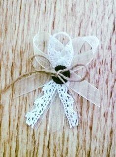 Pierka pre svadobných hostí / Wedding Guests´ Boutonnieres