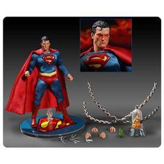 BLOG DOS BRINQUEDOS: Superman One:12 Scale Collective