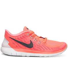 Nike Women's Free 5.0 Running Sneakers from Finish Line | macys.com