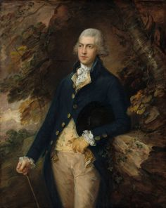 """Thomas Gainsborough, """"Francis Basset, Lord de Dunstanville,"""" c. 1786 oil on canvas, National Gallery of Art, Washington, Corcoran Collection (William A. Clark Collection)"""