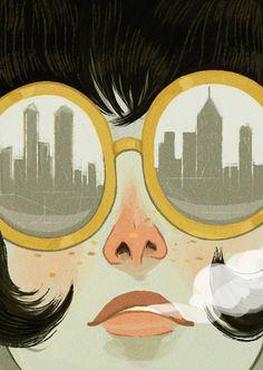 Illustration by Ericka Lugo, via Behance