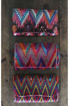 """Precious Hands- Accordion Huipil Wallet  """"Buying one before I go on my trip!"""" - Kelly, Director of Digital Marketing"""