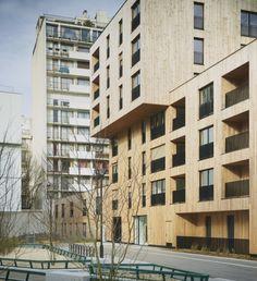 Бюро TVK реализовало комплекс социального жилья в Париже