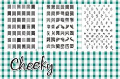 New Bundle 3 Nail Art Jumbo Image Plates Stamps (Z3) of 168 Designs by Cheeky® >>> Details can be found by clicking on the image.