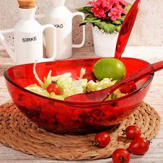Kaşıklı Salata Kasesi