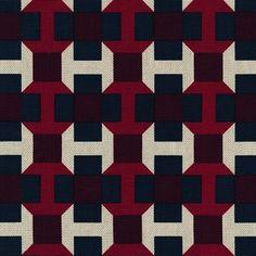 Hermès Pavage Imprime'   Meubelstof - Philippe Mouquet