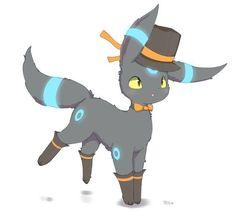 Shiny Umbreon Pokemon Umbreon, Pokemon Team, Eevee Evolutions, Cute Pokemon, Pikachu, Pokemon Stuff, Cute Animal Drawings, Kawaii Drawings, Cute Drawings
