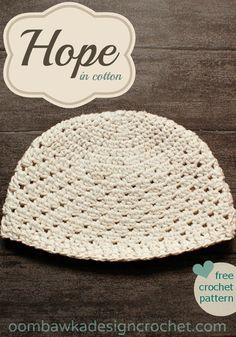 Hope Free Crochet Pattern
