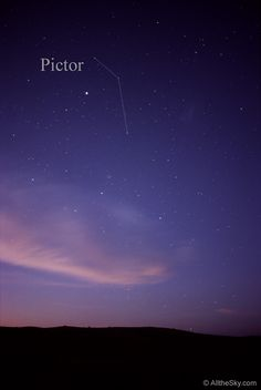 Visual Constellation Photos - Pictor, the painter