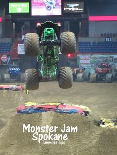 ALL MONSTER TRUCKS I LOVE, especially Grave Digger (my favorite truck of all)
