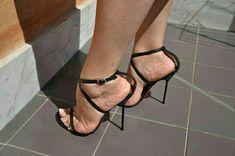 Sexy Legs And Heels, Hot High Heels, Dress And Heels, Womens High Heels, Gladiator Heels, Strappy Sandals Heels, Stiletto Heels, Pantyhose Heels, Stockings Heels