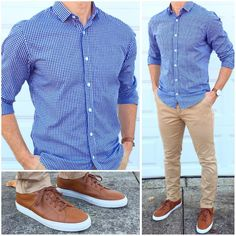 Here's a cool outfit idea for casual Friday tomorrow. It's clean enough to wear to the office  ...