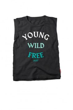 Young Wild Free Rocker Tee by Prefresh | Little Skye Kids S17