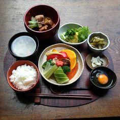 写真:一汁三菜発酵膳