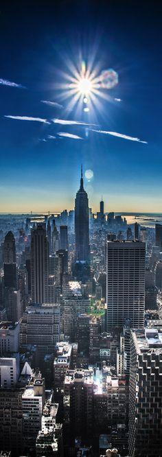 Empire State Building, New York City, VS http://www.vertrekdirect.nl/bestemming/Verenigde_Staten?utm_source=pinterest&utm_medium=textlink&utm_campaign=socialmedia