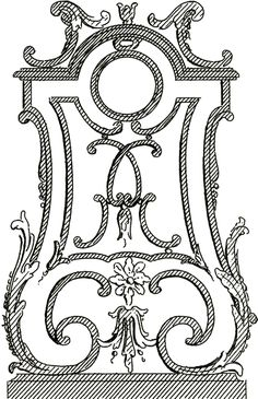 French Architectural Ornament Images - graphics fairy