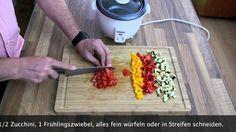 Kochen • Rezept: Tristar Reiskocher: Reis zubereiten und Reis Ratatouille in einem Reiskocher - sehr lecker, sehr effizient, macht Spaß.