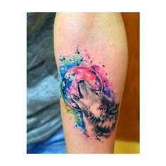 90 Great Water Color Tattoo Examples ❤ liked on Polyvore featuring accessories, body art and tattoos