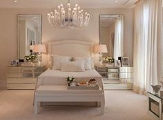 Bedroom Decor Ideas, Home Decor Ideas, bedroom design, Decor Ideas, Luxury… Dream Bedroom, Home Bedroom, Bedroom Decor, Bedroom Ideas, Closet Bedroom, Dream Rooms, Bedroom Yellow, Bedroom Lighting, Master Bedrooms
