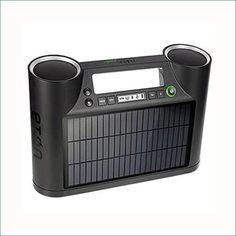 Solar is a portable Bluetooth sound system; http://greener-universe.com/electronics/eton-rukus-solar-bluetooth-sound-system-with-solar-panel.html #renewableenergy #solar #products